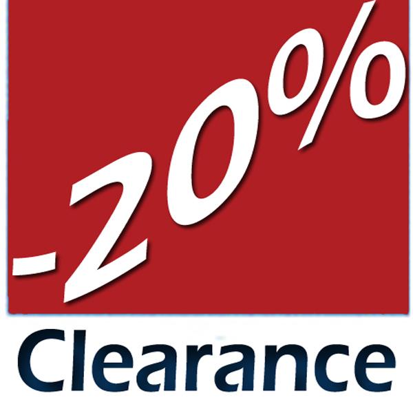 Clearance -20a