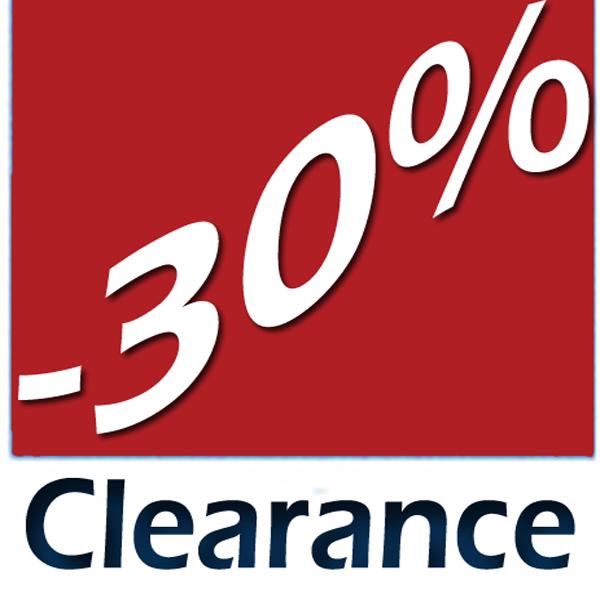 Clearance -30a