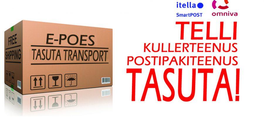 E-poe kauba transport