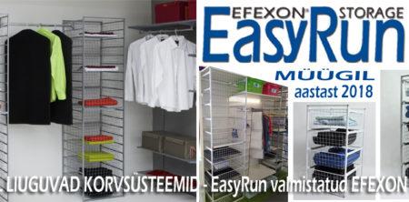 EFEXON® EasyRun-Rullikutel korvid