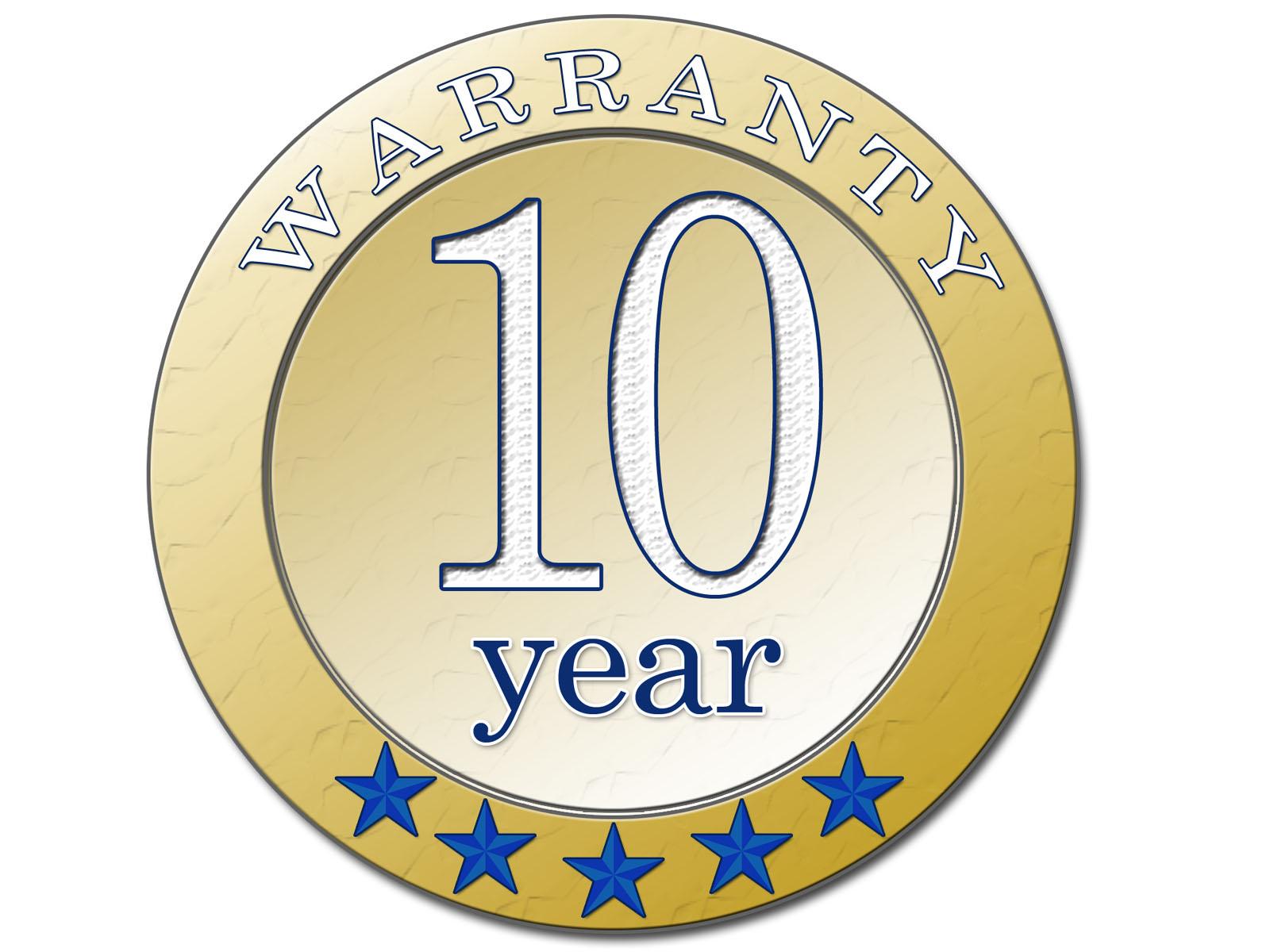 10 aastat garantii